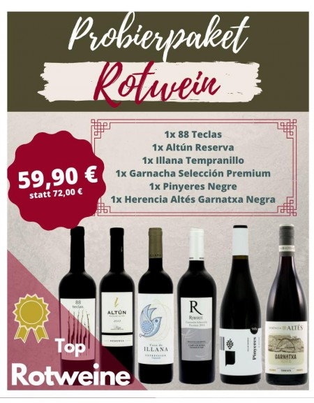 Probierpaket Rotweine