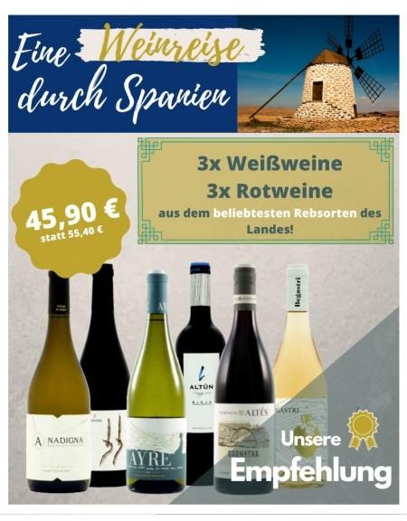 Probierpaket - Weinreise durch Spanien