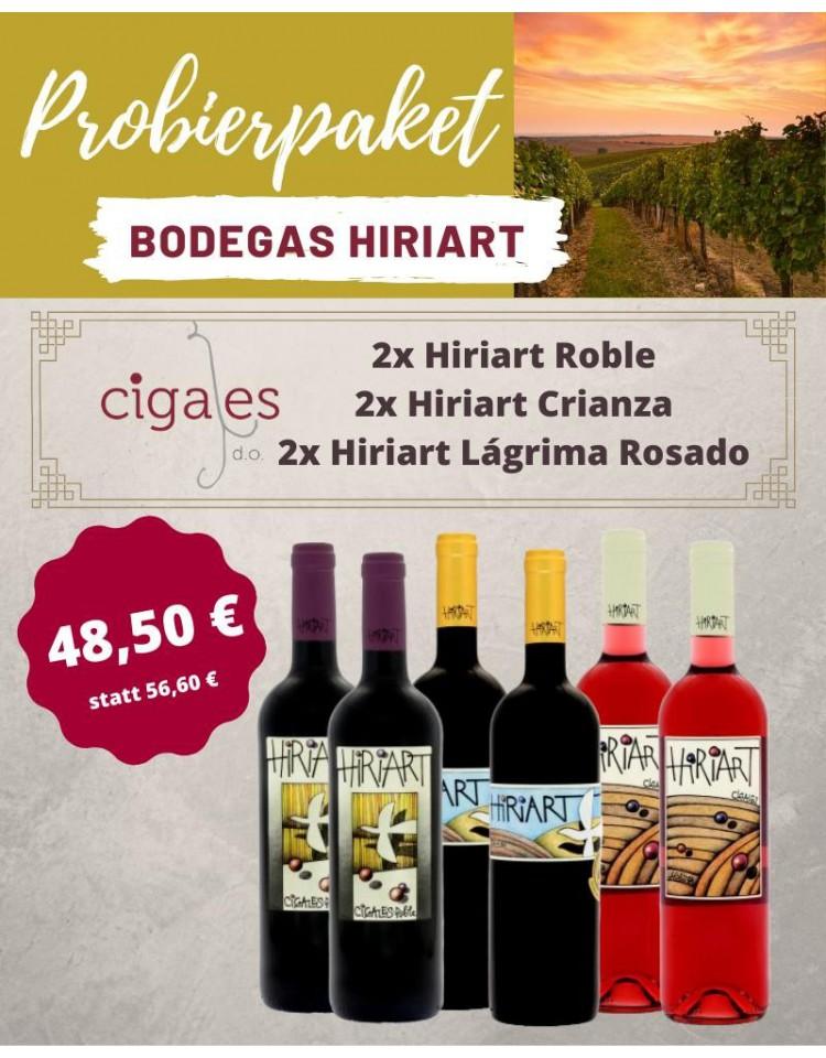 Hiriart Probierpakete Weingüter