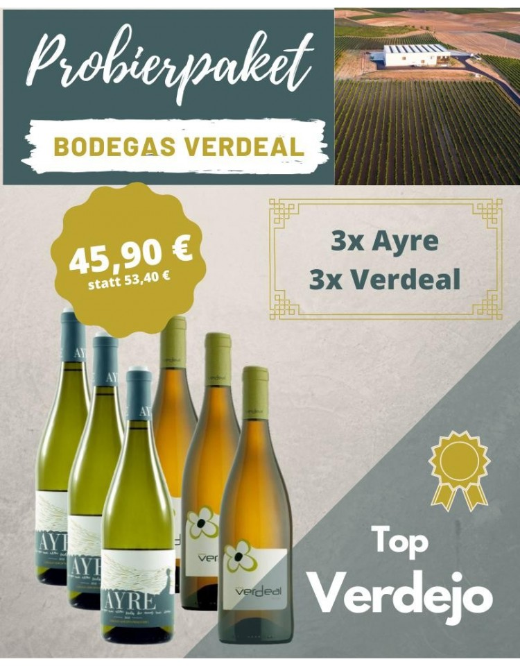 Verdeal Probierpakete Weingüter