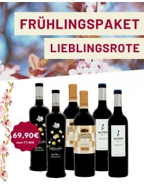 Rotweine für den Frühling
